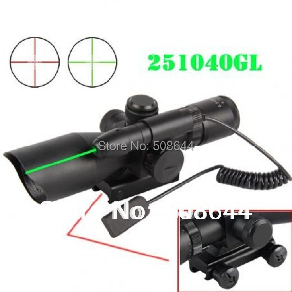 TACTICAL 2.5-10X40eg green laser rifle scope with gsg5 mp5 ptr hK Scope Claw Mount 11mm mount guns airsoft.gun army
