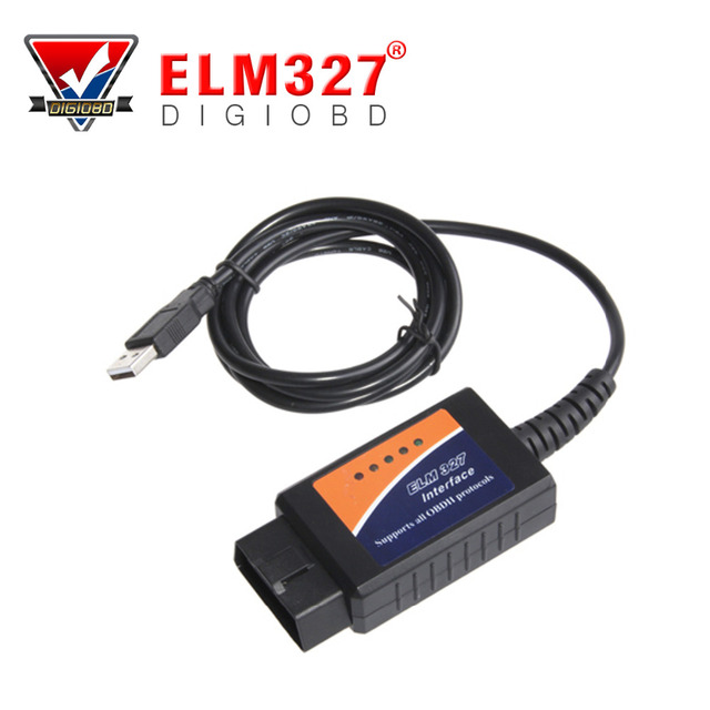 USB OBD2 OBDII Code Readers Scan Tools Auto Diagnostic Scanner Car Diagnostic Tool Check Engine Light ELM327 USB Interface