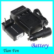 Аккумулятор + зарядное устройство CGA-DU07 VBD-070 DZ-BP07S фотокамеры для Panasonic
