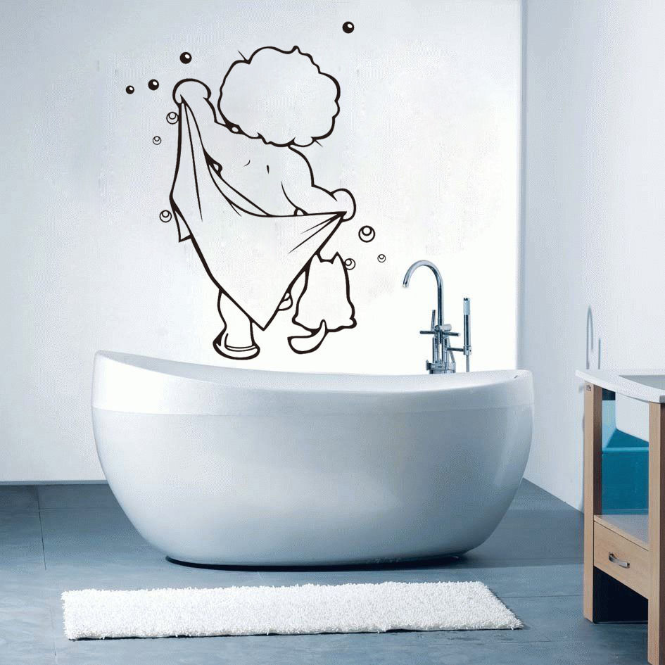 Kids Bathroom Wall Decals - Elitflat