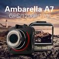 Ambarella A7 Car DVR GS52D 2304 1296P Full HD Car Camera Video Recorder GPS Logger 170