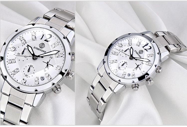 Все 370 мужские часы лучший бренд класса люкс мужчины календарных шесть стежков полный стальные мужчины спортивные часы водонепроницаемые relogio masculino
