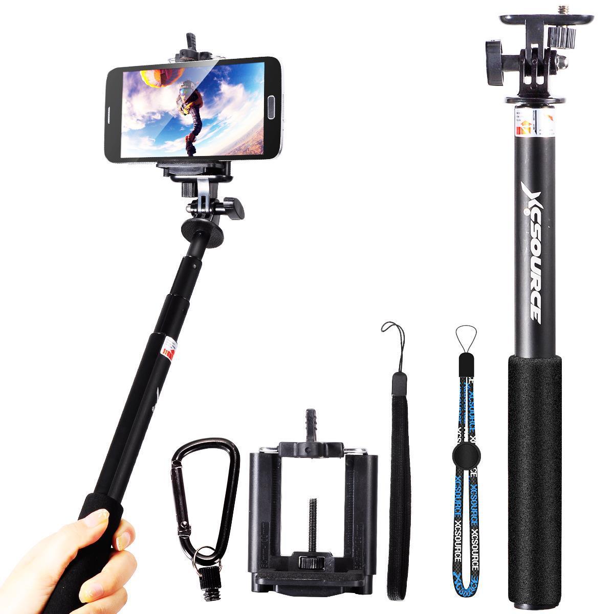 Xcsource Self Portrait Monopod Phone Stick Support Pole bluetooth stick extendable tripod for camera XC201(China (Mainland))