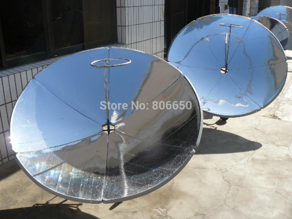 USA stock, New Portable Parabolic Sun Power Energy Solar Cooker Water Cooking Oven Camping(China (Mainland))