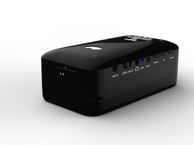 surround speakers with fm sd usb TF -imusic8