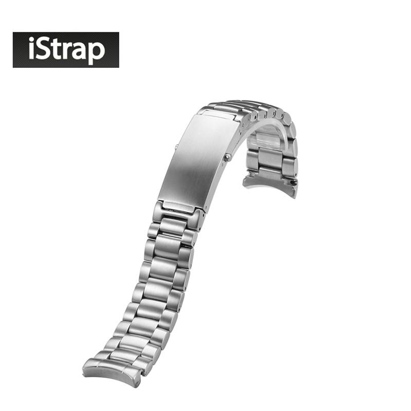 20 мм Массив Из Нержавеющей Стали Серебряные часы ремешок для Omega Seamaster Planet Ocean Стали 20 ММ Браслет 1589/858