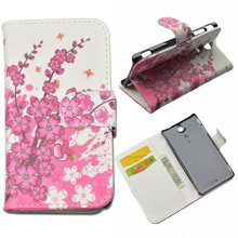 Buy PU Leather Case Sony Xperia TX / LT29i Flip Cover Cases Sony Xperia TX Phone bags Stand wallet Protective for $5.00 in AliExpress store