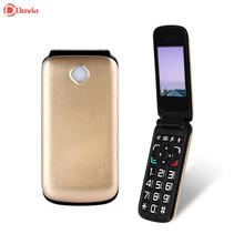 VKWORLD Diamond Z2 2.4 inch Flip Phone Unlocked Phone FM MP3 Dual SIM Big Keypad Big Fonts SOS(China (Mainland))