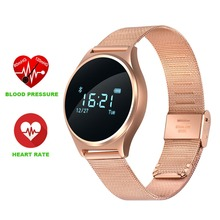 Buy Original M7 Round Bluetooth Smart Watch Blood Pressure & Heart Rate Monitor Sport Smart Wristband Android IOS PK K88H for $73.98 in AliExpress store
