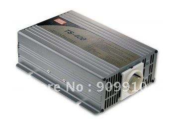 Mean Well 400W/peak 800W true sine wave 12/24/48VDC to 110/220VAC power inverter