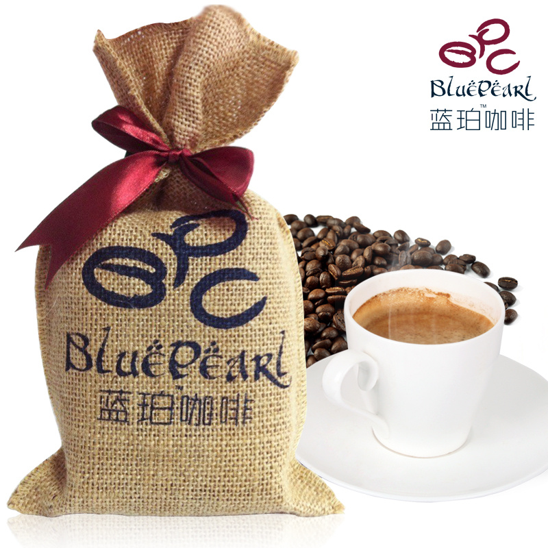 China Yunnan Small Coffee Beans Green Coffee Beans Baking Charcoal Roasted Limited edition coffee organic coffea