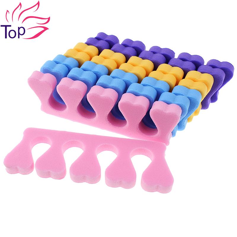 10Pcs/Lot 4 Color Choice Orthodontic Straightening Pad Toes Hammer Sub-toe Toe Separator Nail Art Tools Pedicure Feet Care JH053