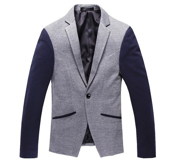 Free shipping high quality fashion spring autumn men jacket,boutique casual slim fit men dress Urban blazer suit jackets(China (Mainland))