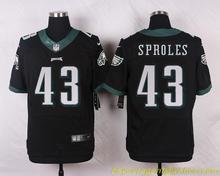 Men's free shiping A+++ quality Philadelphia Eagles #43 Darren Sproles Elite(China (Mainland))