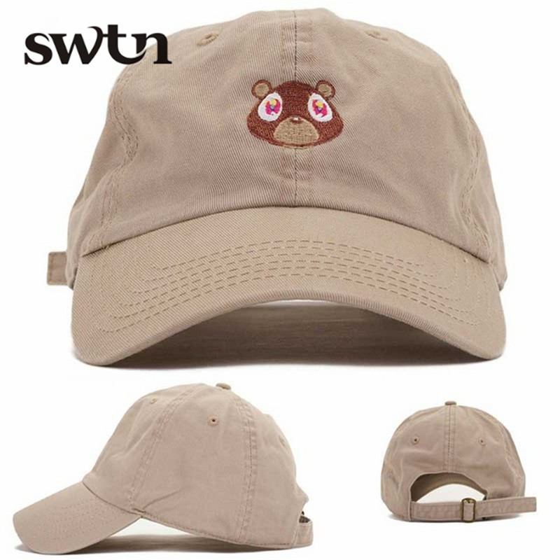 2016 Hot Selling Female Snapback Baby Bear Embroidery Baseball Cap Racing High Quality Solid Color Pink Black gorras deportivas(China (Mainland))