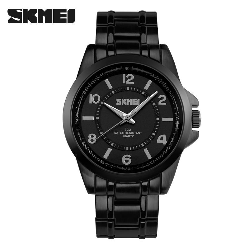 New Watches Men Skmei Luxury Brand Sports wristwatches Quartz Watch Full Steel military Dive Mens Clock Reloj Relogio Masculino<br><br>Aliexpress