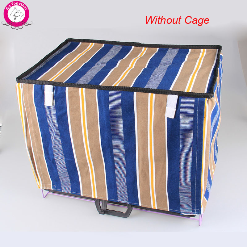 5 Design Dog Cage Cover Flower Print Striped Pet Crate Cover Without Cage(China (Mainland))