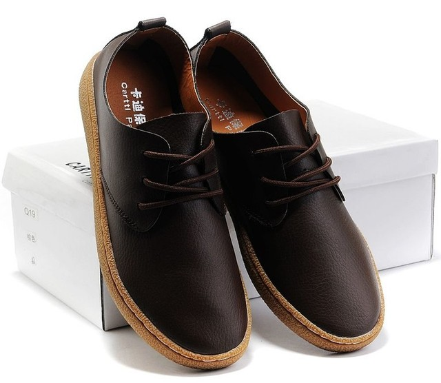 Wear-resistant 2013 genuine leather shoes men's breathable shoes cow muscle shoes outsole shoes