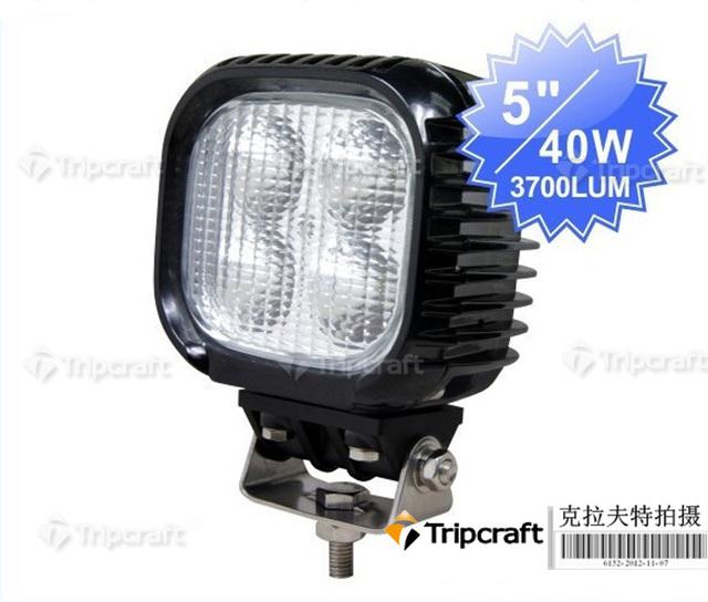 New Arrival 40w led worklight light high quality led 4x4 Truck off road  Boat light 10-30V DC led light bar,led working light