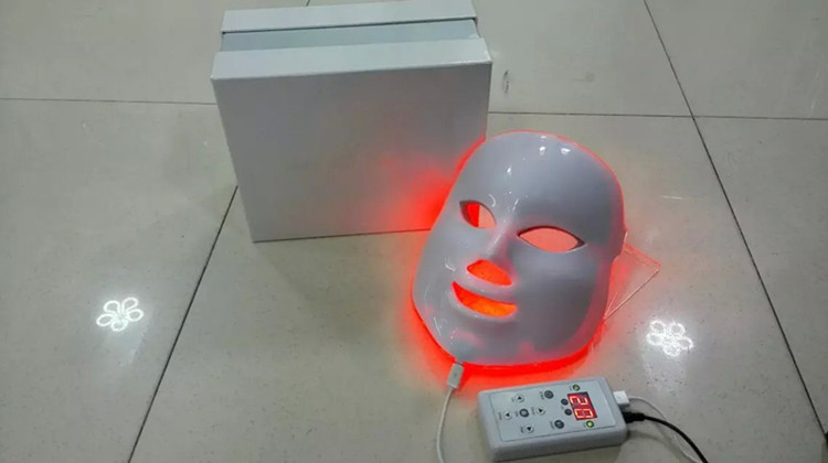 Hot Sale 7 Color Photon Facial colorful Led Mask Rejuvenecimiento Estetica Face skin whitening Photodynamic Therapy Beauty Care cheap