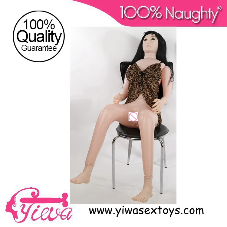 Male Implement Real Silicon Inflatable SexDoll Oral Vagina Anal Masturbator BreastDolls With Hair Adult Sexy Products For Men(Hong Kong)
