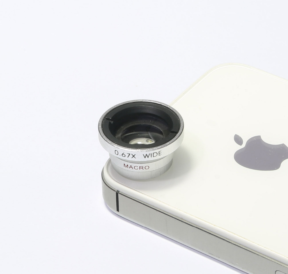 0.67 Wide Angle+Macro Camera Lens for Samsung Galaxy S3 S4 IPHONE 5 5S 5C 6 6puls