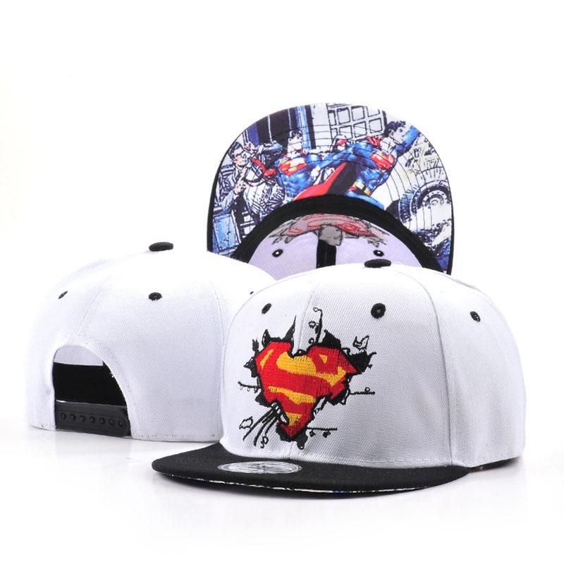 Fashion Bone Cotton Unisex Hat Popular Models Superman Baseball Unique Terrific Smashing Cap Flat Hip-Hop Casual Snapback Caps(China (Mainland))