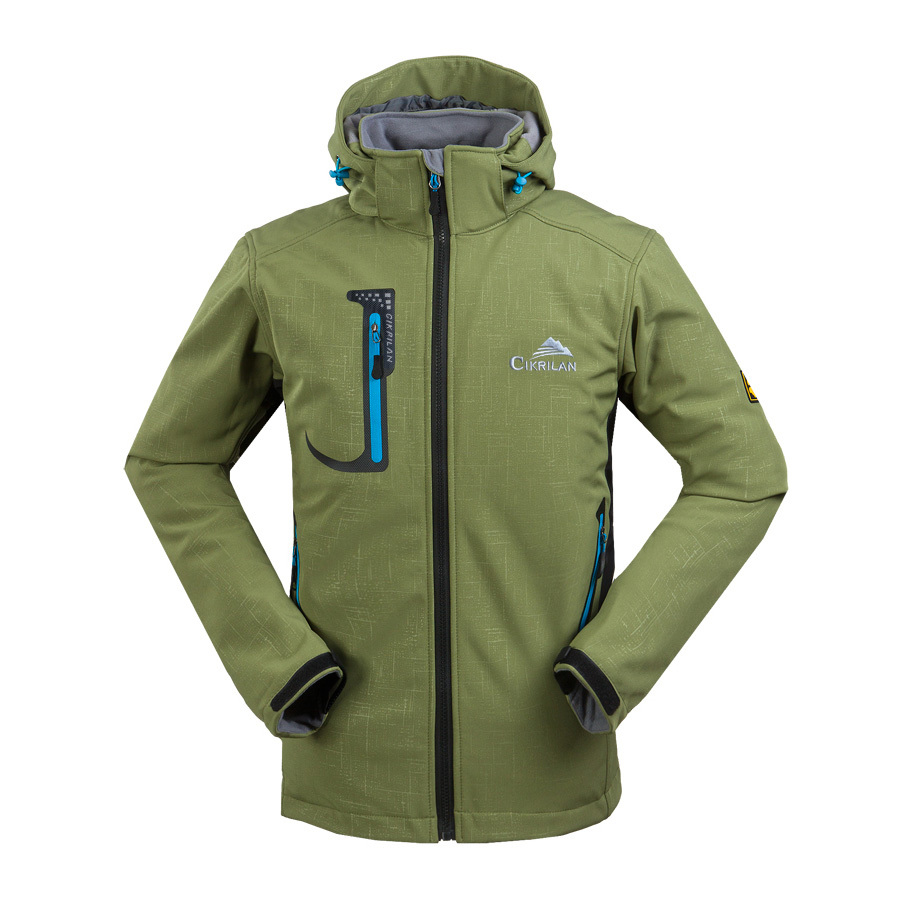 High quality men ski soft shell outdoor hiking camping for Waterproof fishing jacket