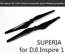 the lastest Original DJI 1345S QR propellers Z-BLADE composite carbon fiber material for Inspire 1 and E800 drones