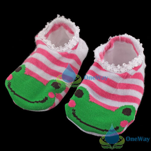 oneway Cute Baby Kids Toddler Ankle Socks Non-slip Booties High Quality(China (Mainland))