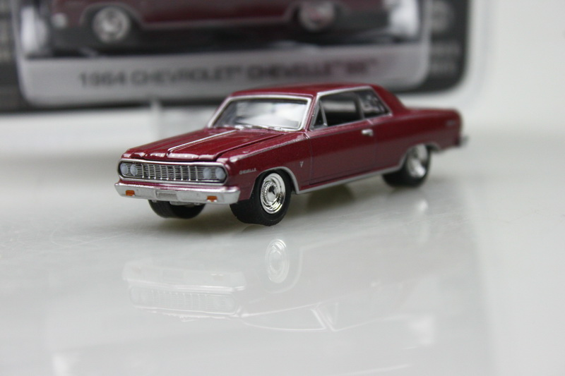 GreenLight 1:64 1964 CHEVROLET CHEVELLE SS boutique alloy car toys for children kids toys Original packaging freeshipping(China (Mainland))