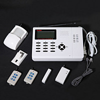 Wholesale gsm &pstn LCD voice programming home alarms | DIY security systems | burglar & fire alarm | pir detector  | Anti-theft
