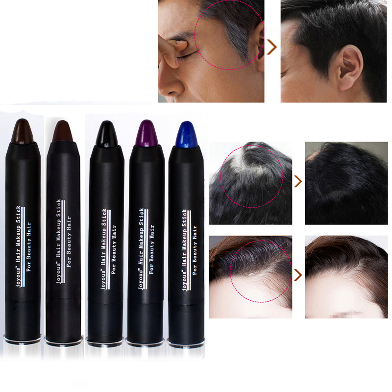 5 color Temporary Hair Dye Brand Hair Color Chalk Crayons Paint Hair Care Black/Dark/brown/Coffee/purple Men and women M02253(China (Mainland))
