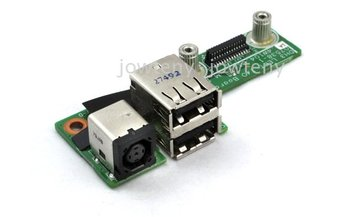 Free shipping  30 days warranty, DC Jack USB Power Board Port 48.4W104.011 For Dell XPS M1530