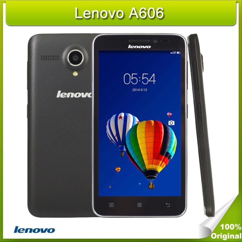 Original Lenovo A606 .0 inch 4G Android 4.4 Smart Phone MT6582M + 6290 Dual Core 1.3GHz 4GB ROM Single SIM FDD-LTE & WCDMA & GSM(China (Mainland))
