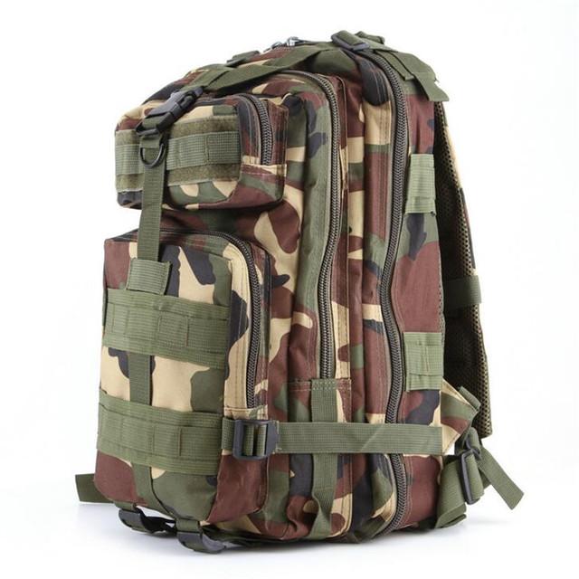 Камуфляж 600D Нейлон мужская Военный Рюкзак Водонепроницаемый 3 P Открытый Тактический ...