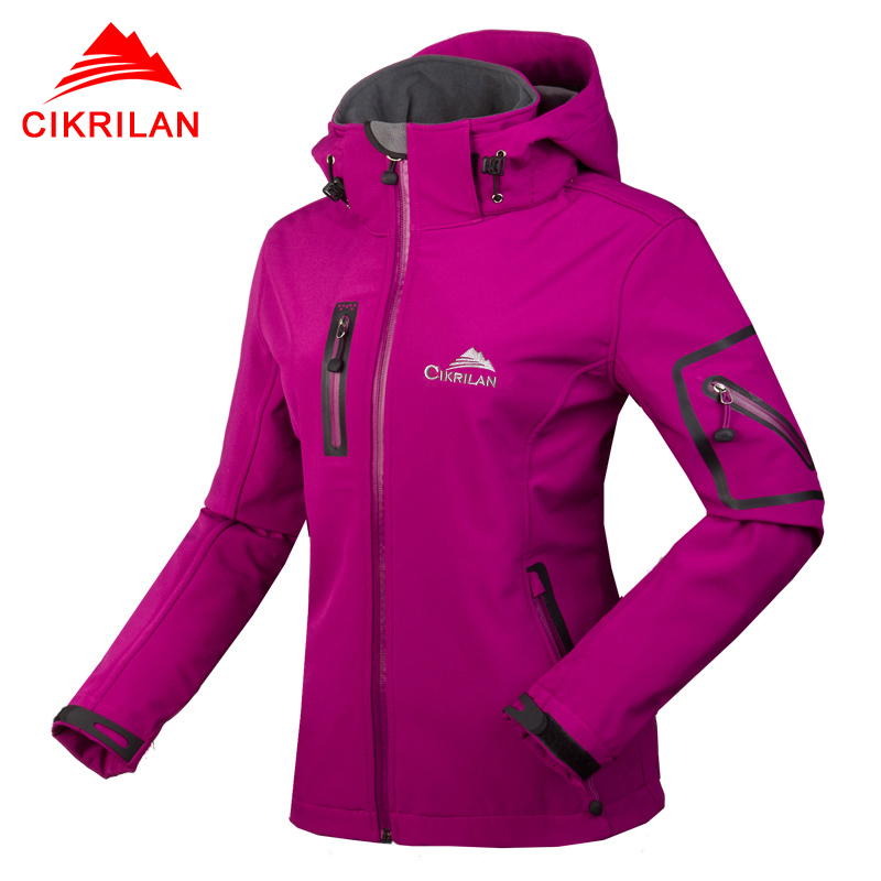 Women's Waterproof Breathable Softshell Jacket Ladies Outdoors Sports Coats Girl Soft Shell Ski Hiking Windproof Winter Outwear(China (Mainland))