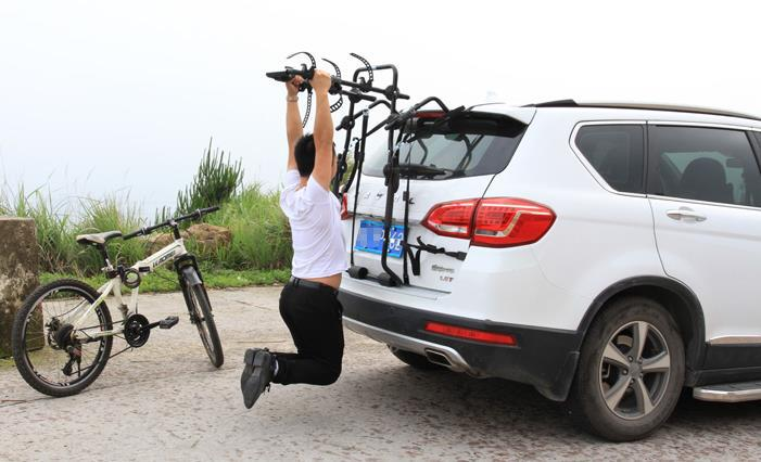 Roof Racks Car bike rack auto car bike rack cross-country car trunk, after rear  bike rack hanging with car suspension frame(China (Mainland))