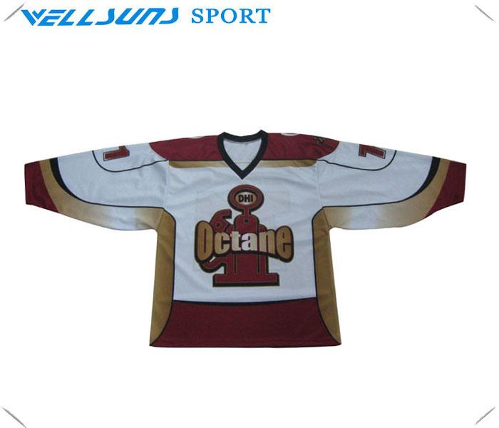 Best quality teams sublimated custom ice hockey jersey(China (Mainland))