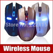 USB 6D Eron Man Computer Gaming Wireless Mouse For PC Laptop