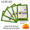 grape almond smoothing firming facial mask luscao cosmetic factory - My beauty bar store