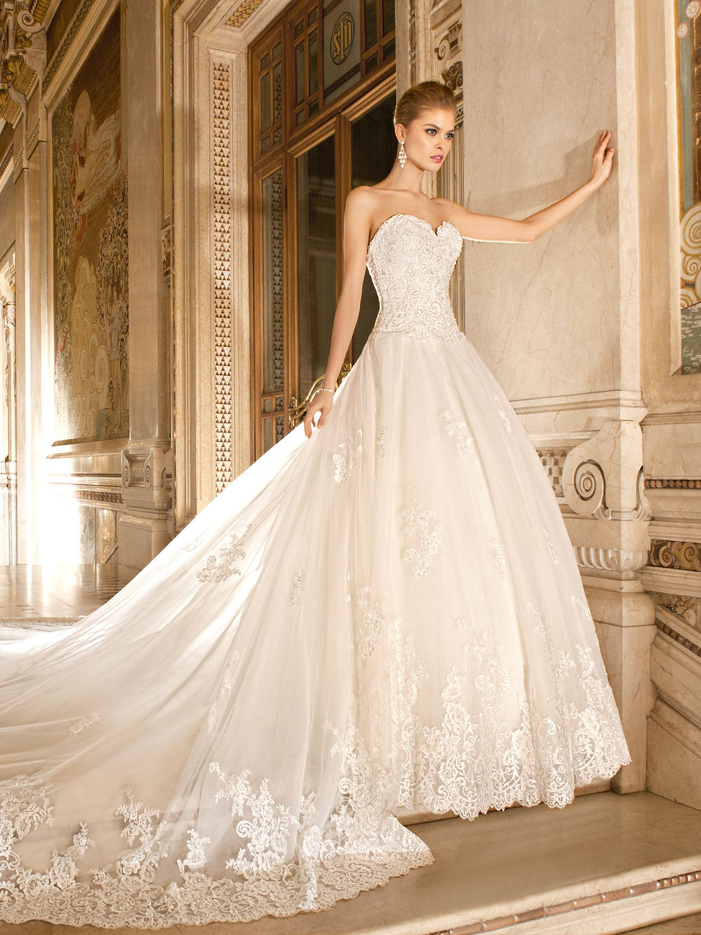 Royal wedding dresses cocktail dresses 2016 for Wedding dress long train