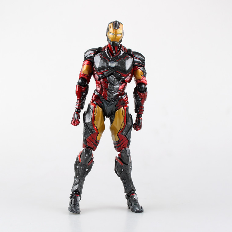 SQUARE ENIX Variant Play Arts Kai Marvel Iron Man 24cm PVC Action Figure Model Toys Gifts Collection