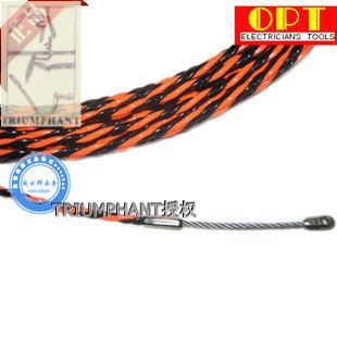 Taiwan OPT electrical wire threading device through a tube fiber optic cable trunking lead is three stocks imported 20 m(China (Mainland))