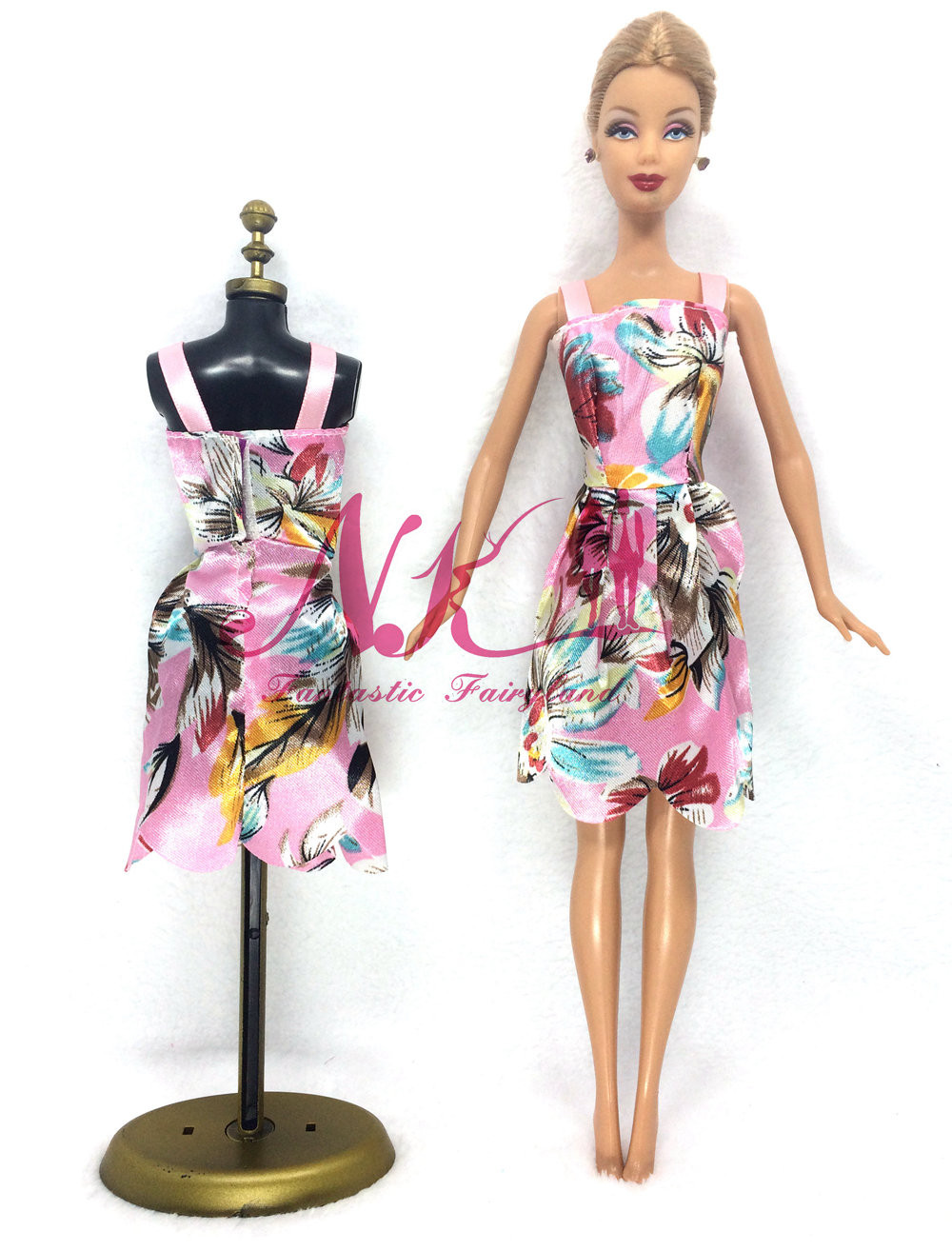 NK 2016 Latest Doll Gown Lovely Handmade Social gathering ClothesTop Vogue Gown For Barbie Noble Doll Finest Youngster Ladies'Reward 027E