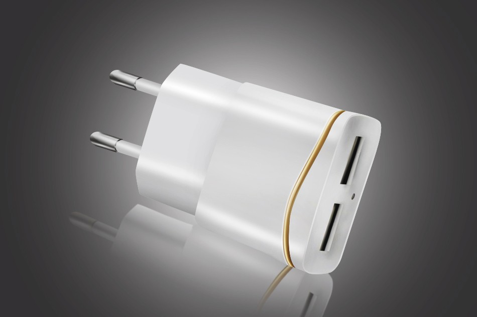 USB Charger Original Smart EU Plug 5V 3A Power Adapter Dock Mobile Phone Accessories For iPhone iPad Samsung LG Fast Charging