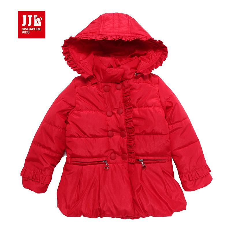 baby parka baby girls winter outwear children jacket kids hooded down coat baby girl clothing baby winter jacket warm