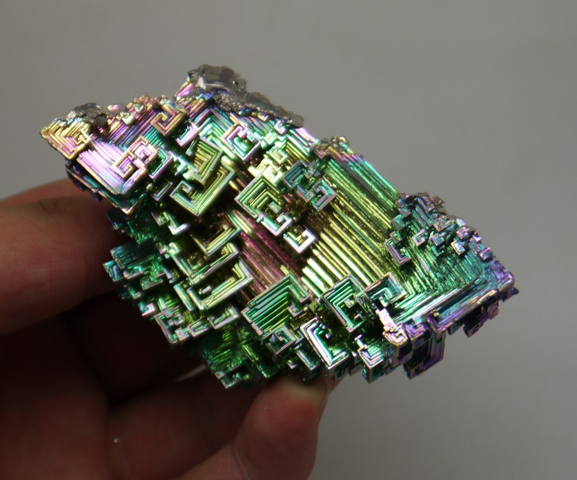 High Quality Iridescent Bismuth Crystal 132.01g #A-596<br><br>Aliexpress