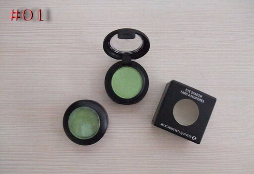 1PCS/LOT 2016 New arrival Single Eyeshadow/Pigments /brand makeup with 24 different colors free shipping(China (Mainland))