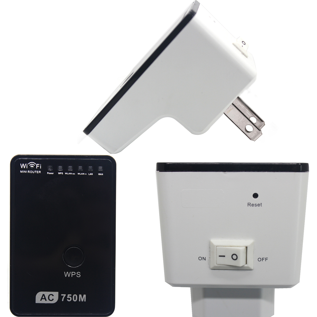 New Hot Sale 750Mbps Wifi Repeater Wireless Range Extender Booster 802.11N Durable Signal Amplifier wlan EU<br><br>Aliexpress
